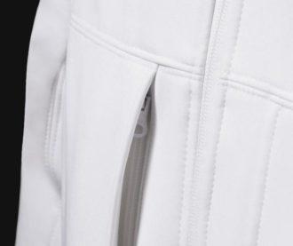 Hooded Softshell Men B&C - Brusttasche mitverdecktemReißverschluss