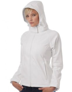Ladies Hooded Softshell B&C - Kapuzeabnehmbar