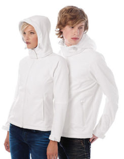 Ladies Hooded Softshell B&C - LadiesMen