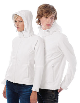 Ladies Hooded Softshell B&C - LadiesMen