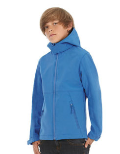 Kids Hooded Softshell B&C