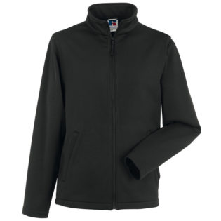Mens Smart Softshell Jacket Russel - black