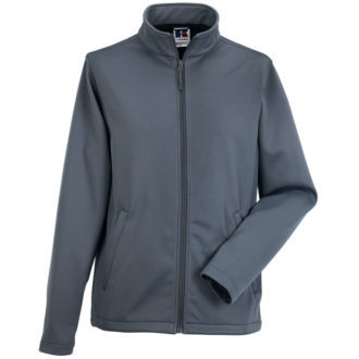 Mens Smart Softshell Jacket Russel - convoy grey