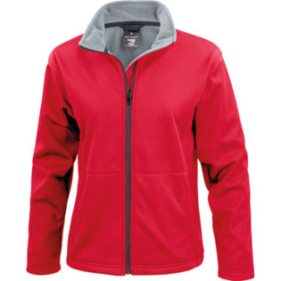 Ladies Core Softshell Result - rot