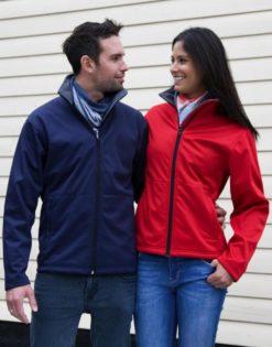 Ladies Core Softshell Jacket Result - Für Damenund Herren