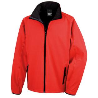 Bedruckbare Soft Shell Jacke Result - red/black
