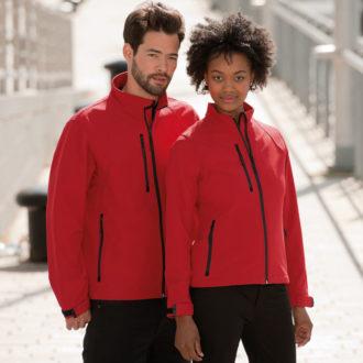 Soft Shell Jacket Russel - Für Damenund Herren
