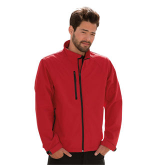 Soft Shell Jacket Russel - classic red