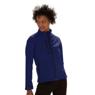 Ladies Soft Shell Jacket Russel - french navy