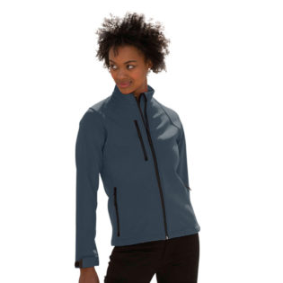 Ladies Soft Shell Jacket Russel - titanium