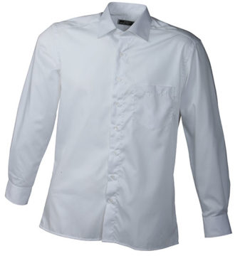 Werbeartikel Business Hemd Shirt longsleeved - white
