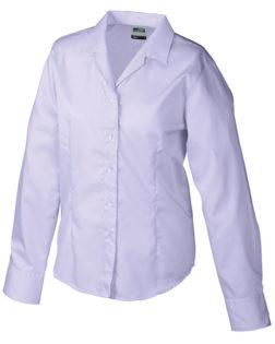 Werbeartikel Damen Business Bluse longsleeved - lilac