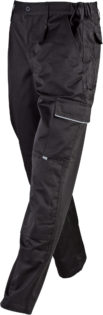 Workwear Pants James & Nicholson - black