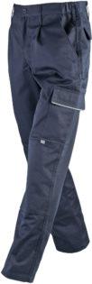 Workwear Pants James & Nicholson - navy