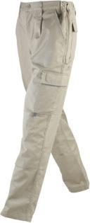 Workwear Pants James & Nicholson - stone