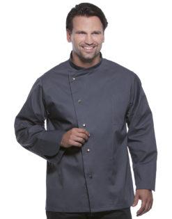 Chef Jacket Lars Long Sleeve KARLOWSKY - anthracite
