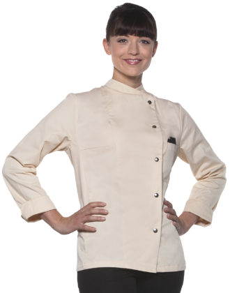 Ladies Chef Jacket Larissa KARLOWSKY - cream