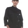 Ladies Chef Jacket Larissa KARLOWSKY - black