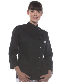 Ladies Chef Jacket Larissa KARLOWSKY - black