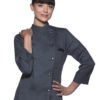 Ladies Chef Jacket Larissa KARLOWSKY - anthracite