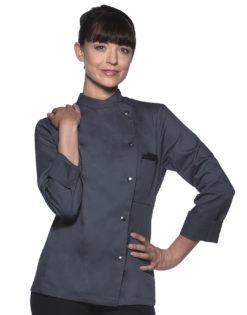 Ladies Chef Jacket Larissa KARLOWSKY - anthracite