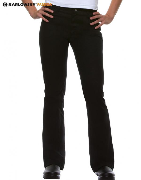 Kochhosen Damen Ladies Trousers Tina Karlowsky