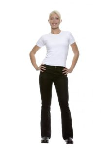 Ladies Trousers Tina Karlowsky - schwarz