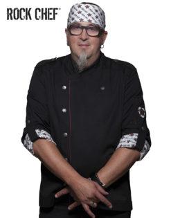 Fashionable Rock Chefs Jacket KARLOWSKY