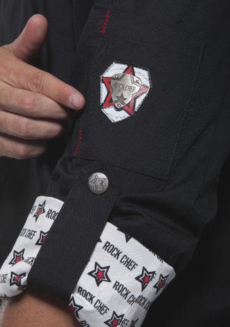 Fashionable Rock Chefs Jacket KARLOWSKY - Markenqualität