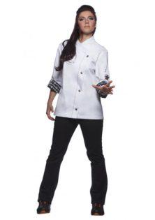 Fashionable Rock Chefs Ladies Jacket KARLOWSKY - Ladies
