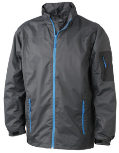 Werbemittel Windbreaker Toronto - carbon/aqua