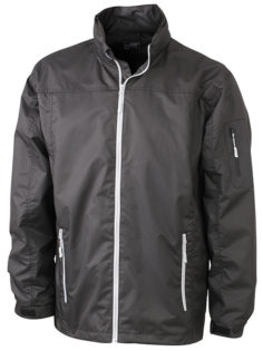 Werbemittel Windbreaker Toronto - black/silver