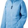 Werbemittel Jacke Fleece Kinder - light blue