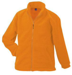 Werbemittel Jacke Fleece Kinder - orange