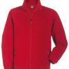 Werbemittel Jacke Fleece Kinder - red