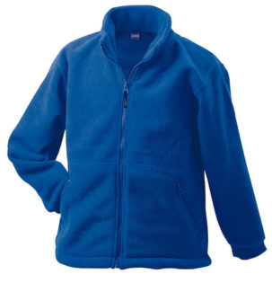 Werbemittel Jacke Fleece Kinder - royal