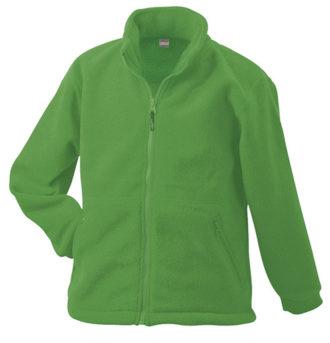 Werbemittel Jacke Fleece Kinder - lime green