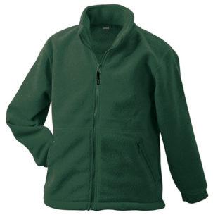 Werbemittel Jacke Fleece Kinder - dark green
