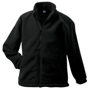 Werbemittel Jacke Fleece Kinder - black