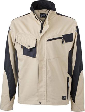 Werbemittel Workwear Jacke - stone/black
