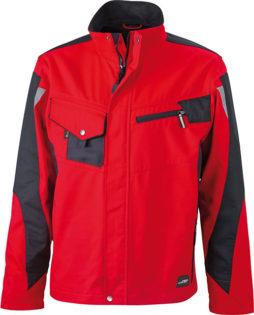 Werbemittel Workwear Jacke - red/black