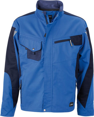 Werbemittel Workwear Jacke - royal/navy