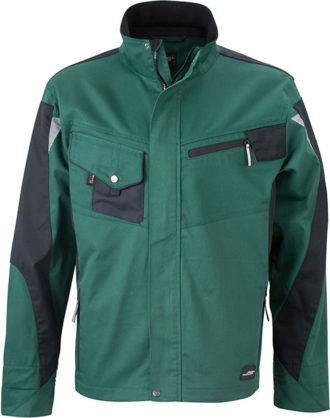 Werbemittel Workwear Jacke - dark green/black