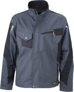 Werbemittel Workwear Jacke - carbon/black