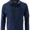 Men's Promo Softshell Jacket James & Nicholson - navy navy