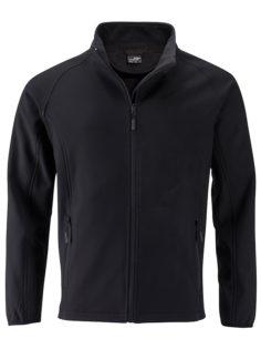 Men's Promo Softshell Jacket James & Nicholson - black black