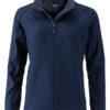 Ladies Promo Softshell Jacket James & Nicholson - navy navy