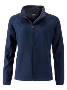 Ladies Promo Softshell Jacket James & Nicholson - navy navy