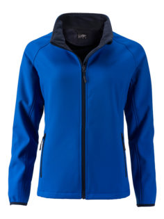 Ladies Promo Softshell Jacket James & Nicholson - nautic blue navy