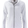 Ladies Promo Softshell Jacket James & Nicholson - white white